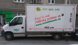 Půjčovna dodávek Praha - Renault Master