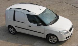 Půjčovna dodávek Praha - Škoda Roomster Praktik