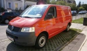 Půjčovna dodávek Praha - Volkswagen T5